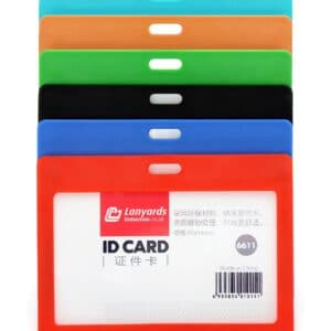 Horizontal Rigid ID Badge Card