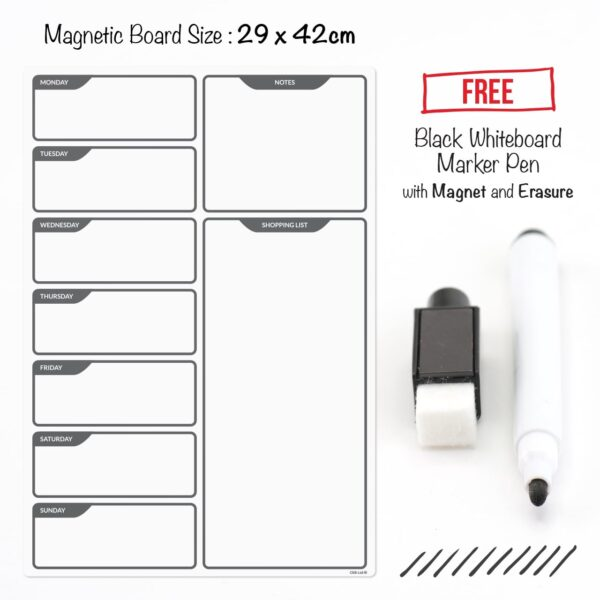 magnetic planner board