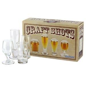 Craft Beer Connoisseur Shots