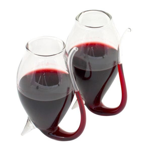 Port Decanter and Sipping Glasses Set