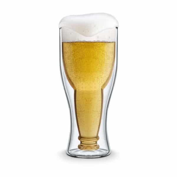 Bottle Shaped Beer Glass