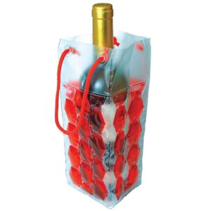 Chill Gel Wine Bottle Chiller Cooler Wrap Bag
