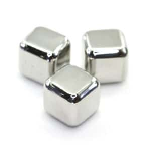 Rocks of Steel Stainless Steel Ice Cubes