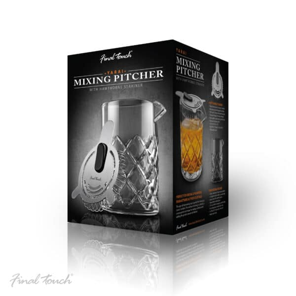 Mixing Pitcher With Hawthorne Strainer