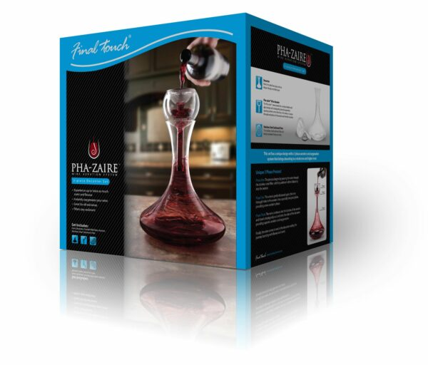 Wine Aerator & Glass Decanter Gift Set