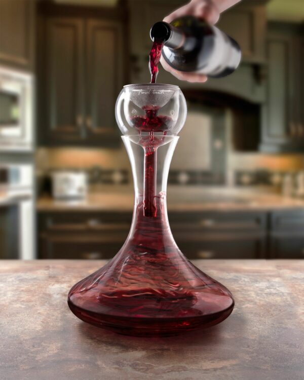 Wine Aerator & Glass Decanter Gift Set