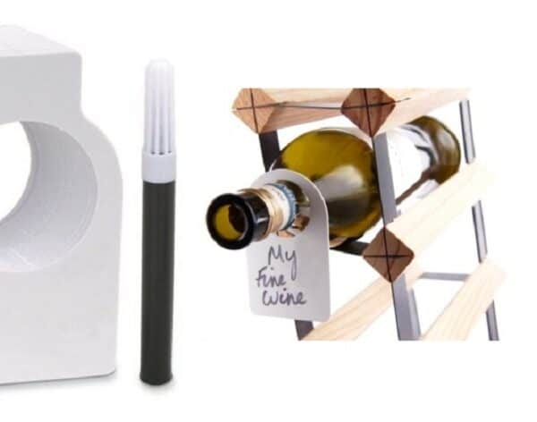 24 Wine Tags with Marker Pen