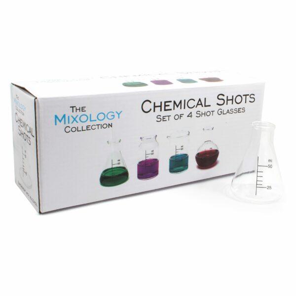 Chemistry Set Shot Vodka Shooters Glasses