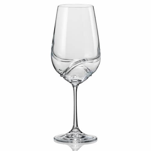 Bohemian Crystal Wine Glasses