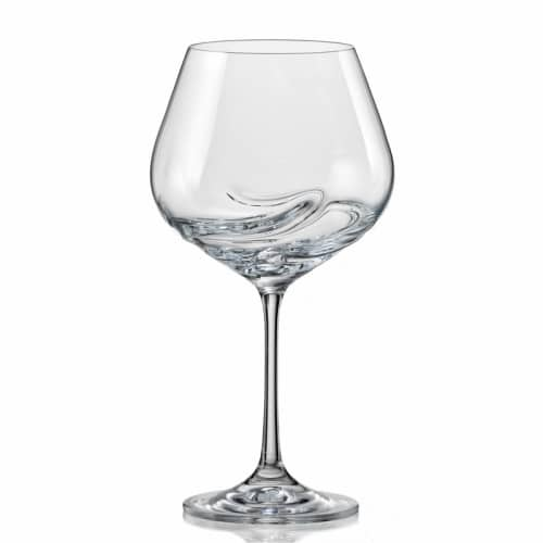 Bohemian Crystal Wine Glasses
