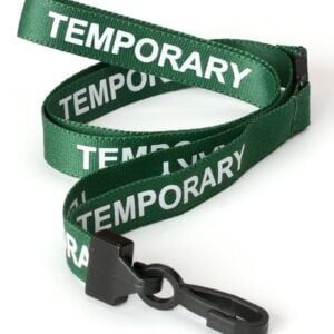 Temporary Lanyards