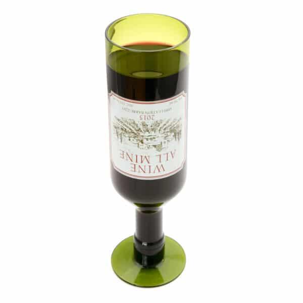 Wine All Mine Full Bottle Glass 750ml-4395