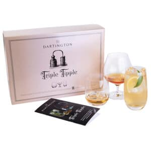 Dartington Crystal Triple Tipple Drinking Gift Set