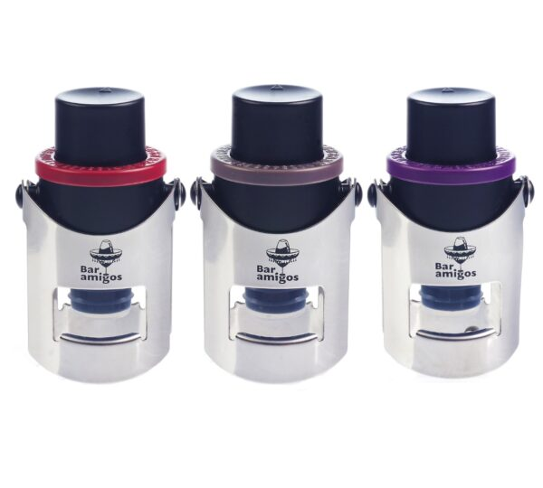Pack of 3 Champagne Pressure Stoppers