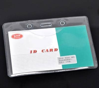 Budget Clear ID Card Badge Holders