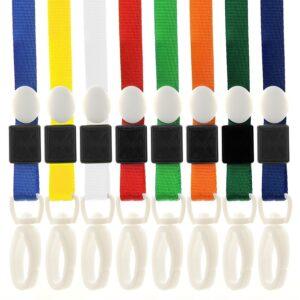 Pro Neck Strap ID Lanyards Plastic Clip-0