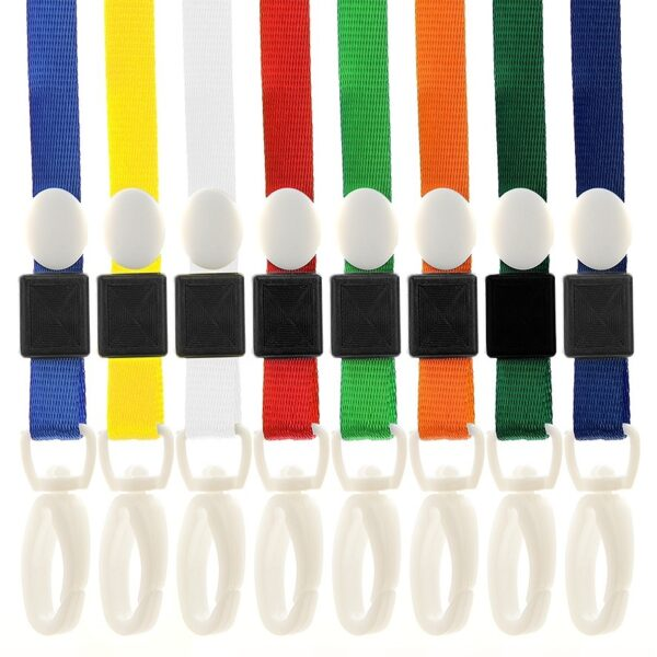 Pro Neck Strap ID Lanyards Plastic Clip-0