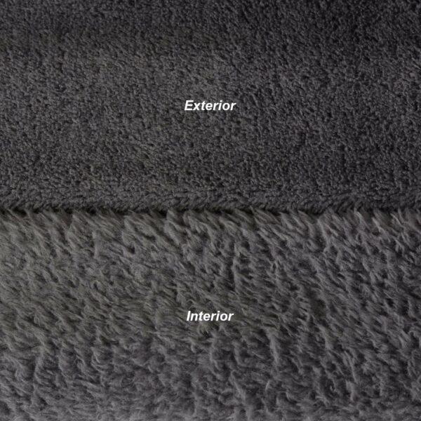 Schiefergrauer Snug-Rug DELUXE-Decke mit Ärmeln-5203