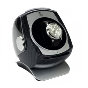 Automatic Watch Winder 4 Timer Options KA083 - Carbon