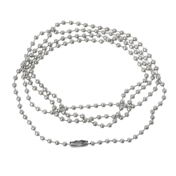 ID Neck BALL CHAIN Necklace