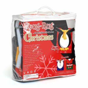 Snug-Rug Christmas Blanket - Penguin