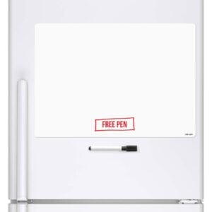 Blank A3 Dry Wipe Magnetic Whiteboard Fridge Board