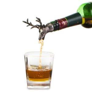 Stag Wine Bottle Stopper and Pourer