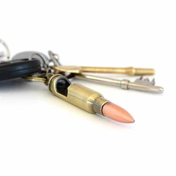 Novelty Bullet Bottle Opener Key Ring