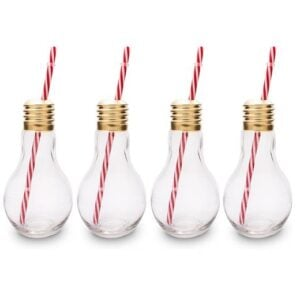 Edison Light Bulb Drinking Glasses