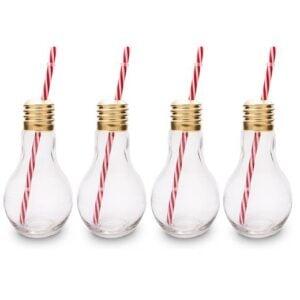 Edison Light Bulb Drinking Glasses