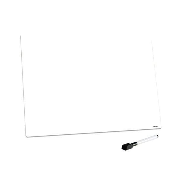 Blank A3 Dry Wipe Magnetic Whiteboard Fridge Board