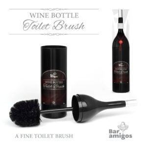 Wine Bottle Toilet Brush 3