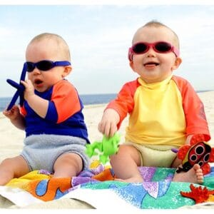 Baby Sunglasses on the beach