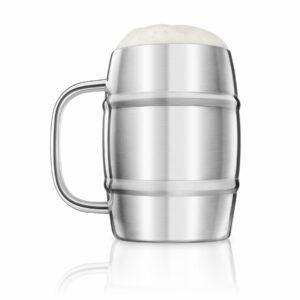Stainless Steel Beer Keg Mug Tankard