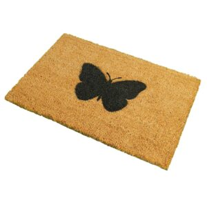 Butterfly Novelty Coir Front Doormat