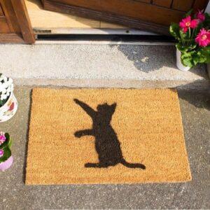 Cat Front Doormat
