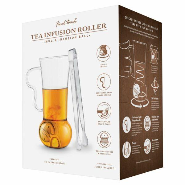 Loose Tea Infuser Mug boxed