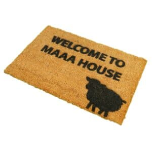 Welcome To Maaa House Front Doormat