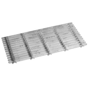 Metal Grill Doormat Galvanised Steel Scraper