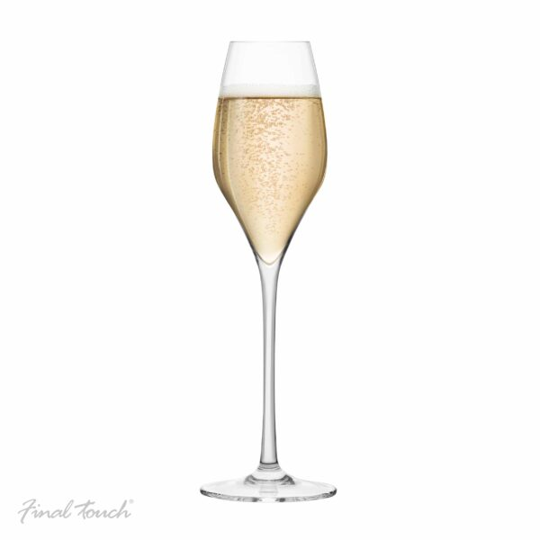 Final Touch Champagne Flutes