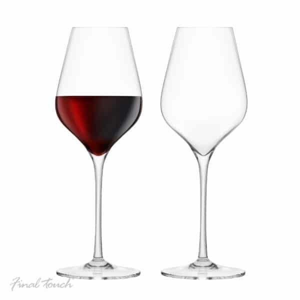 Final Touch Bordeaux Wine Glasses