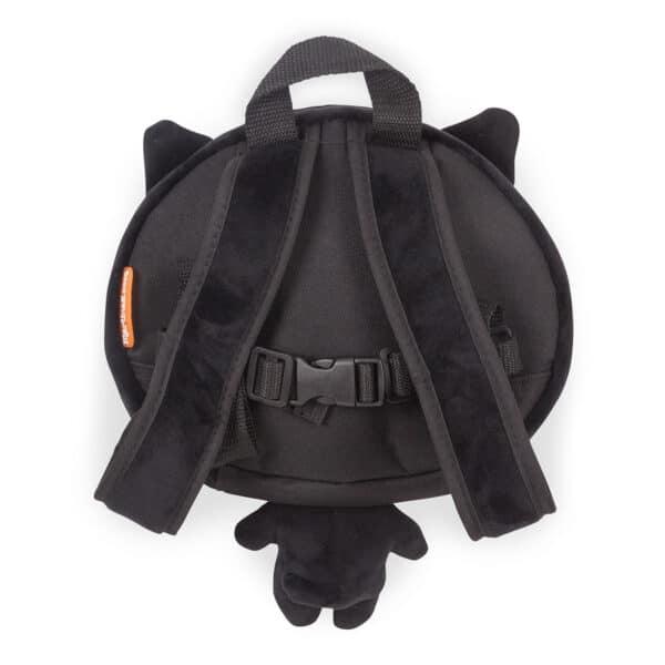 Black Cat Toddler Rucksack Back