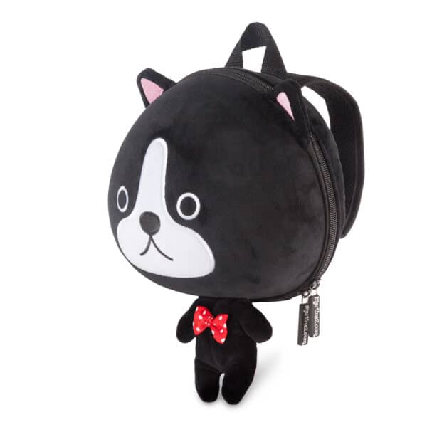 Black Cat Toddler Backpack side