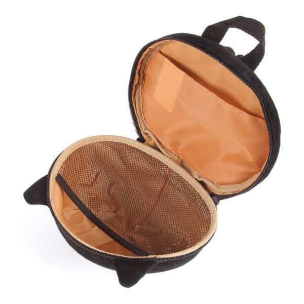 Black Cat Open Rucksack School Bag Backpack