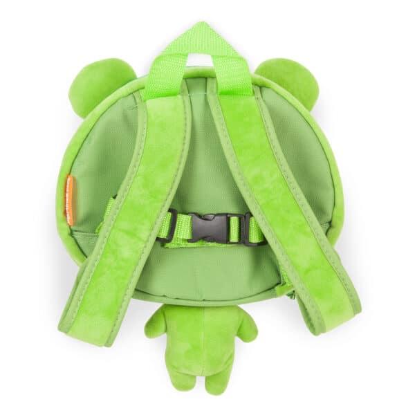 Toddler Frog Rucksack back