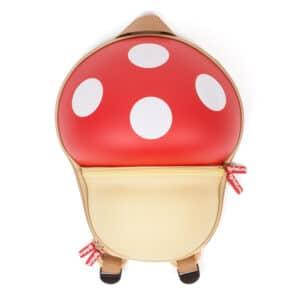 Red Mushroom Toddler Rucksack School Bag Backpack