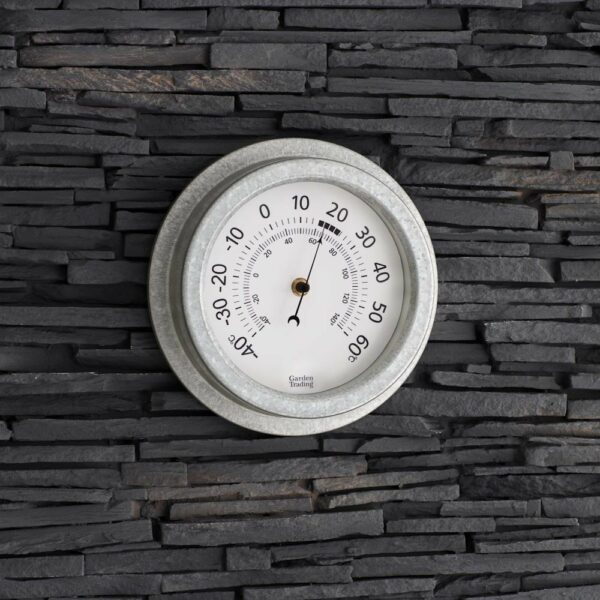 Traditional Outdoor Wall Garden Thermometer