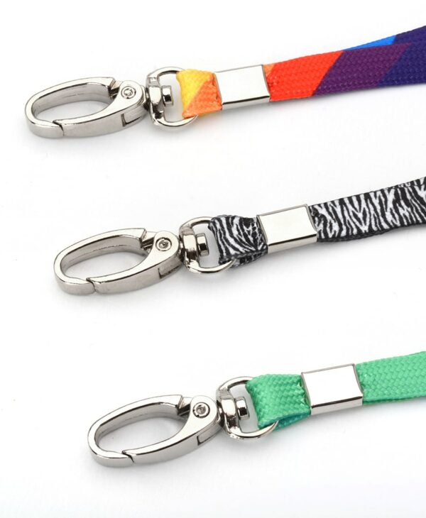 Funky Lanyard with metal clips