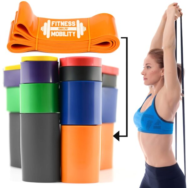 Orange Resistance Bands
