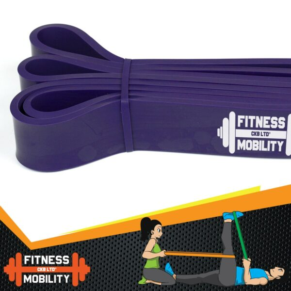 Purple Resistance Band